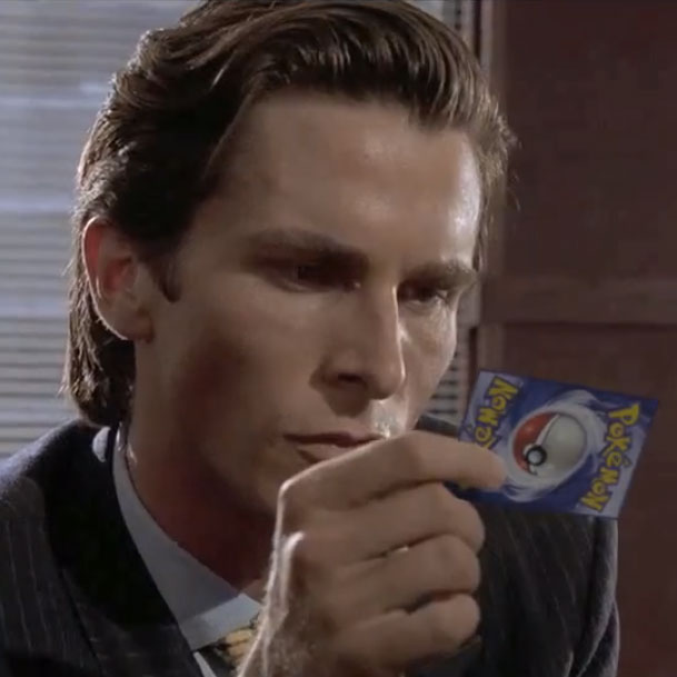 Watch the business card scene from american psycho but with watch the business card scene from american psycho but with pokmon colourmoves