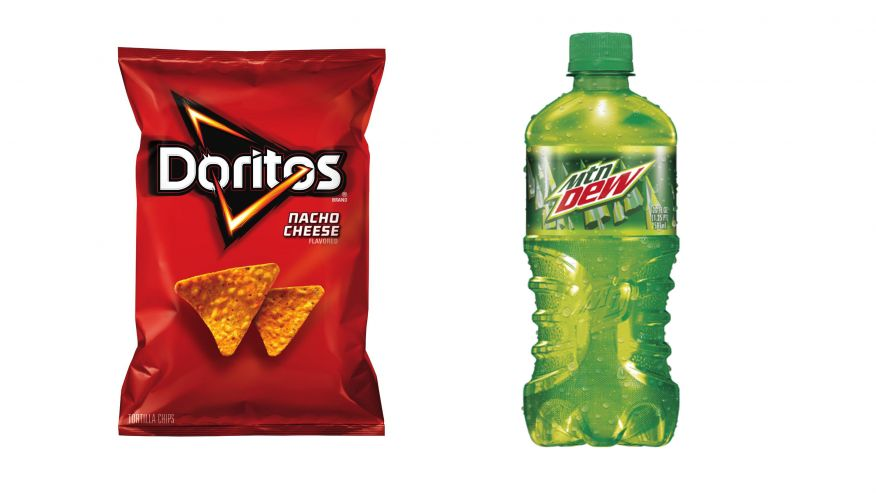 Baja Blast is a Mountain Dew flavor variant. It's standard Taco Bell tagline in the United States is