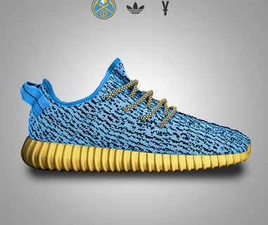 What if every NBA team had their own Yeezy Boost 350?