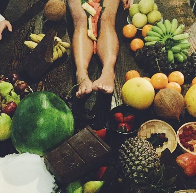 And have Women naked in fruits good result