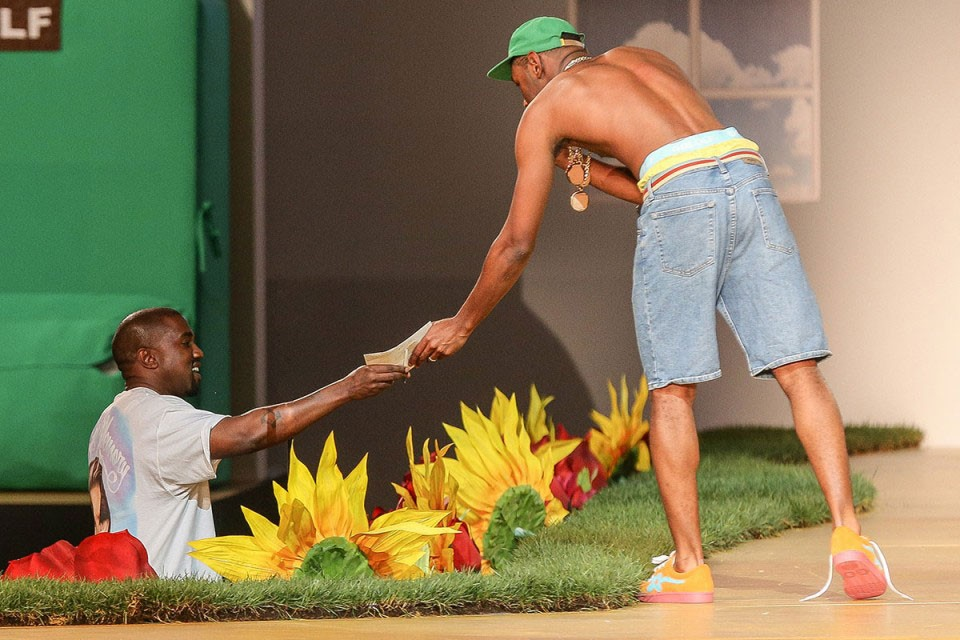 4d5a8f72 Tyler, the Creator performed a brand new banger at his Golf Wang fashion  show/ Because just releasing a new season's worth of clothes wasn't enough