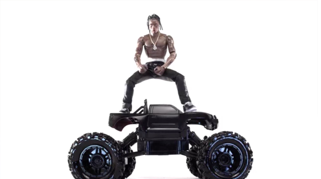 Travis Scott S Action Figure Brought To Life In Video For